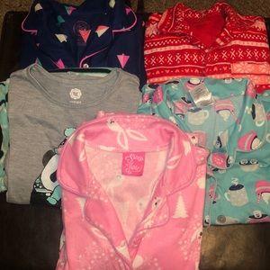 Other - Girls pajamas-5 pairs